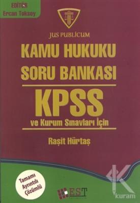 Kamu Hukuku Soru Bankası KPSS ve Kurum Sınavları İçin