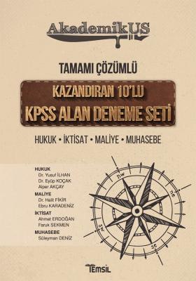 KAZANDIRAN 10'LU KPSS ALAN DENEME SETİ Yusuf İlhan