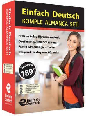 Komple Almanca Eğitim Seti