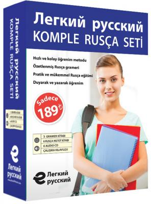 Komple Rusça Eğitim Seti