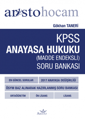Aristo Hocam KPSS Anayasa Hukuku