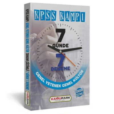 KPSS Kampı Genel Kültür Genel Yetenek