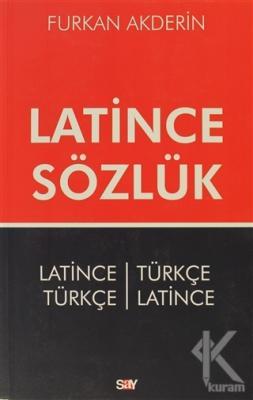Latince Sözlük %20 indirimli Furkan Akderin