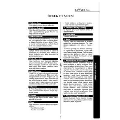 Lawyer Defter - Hukuk Felsefesi Notlu Öğrenci Defteri Savaş Komisyon