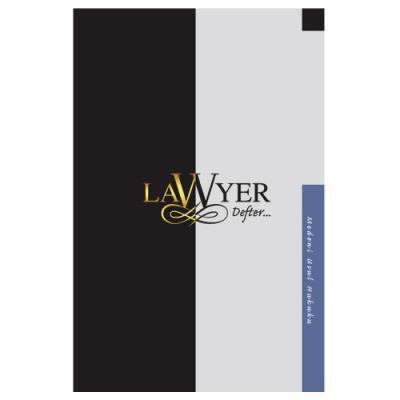 Lawyer Defter - Medeni Usul Hukuku Notlu Öğrenci Defteri
