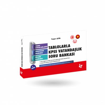 TABLOLARLA KPSS VATANDAŞLIK SORU BANKASI 2.BASKI Toygar Çetin