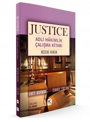 JUSTICE ADLİ HÂKİMLİK ÇALIŞMA KİTABI MEDENİ HUKUK %25 indirimli Ümit K