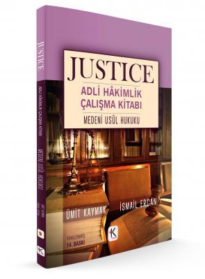 JUSTICE ADLİ HÂKİMLİK ÇALIŞMA KİTABI MEDENİ USUL HUKUKU %25 indirimli