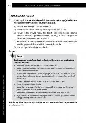 MÜESSİR Adli - İdari Hakimlik Soru Bankası Seti Sertkan Erdurmaz