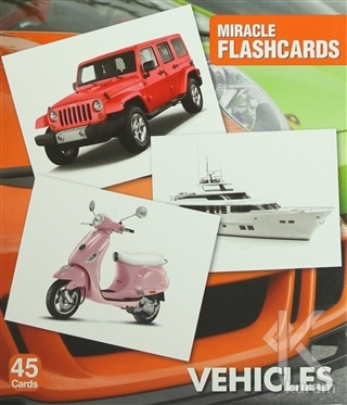 Miracle Flashcards - Vehicles
