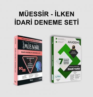 Müessir + İlken İdari Hakimlik Deneme Seti Yaşar Mirzaoğlu