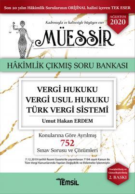 Müessir Vergi Hukuku - Vergi usul Hukuku- Türk Vergi Sistemi Umut Haka