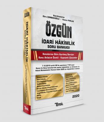 Özgün İdari Hakimlik Soru Bankası Ebru Çorbacıoğlu