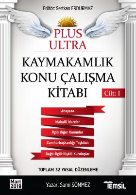 Plus Ultra Kaymakamlık 2 Cilt Konu + Soru + Ek Kitap Sertkan Erdurmaz
