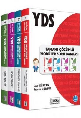 YDS Tamamı Çözümlü Modüler Soru Bankası (4 Kitap)