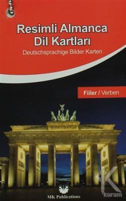 Resimli Almanca Dil Kartları - Fiiller
