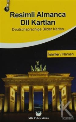 Resimli Almanca Dil Kartları - İsimler