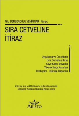 Sıra Cetveline İtiraz %20 indirimli Filiz Berberoğlu Yenipınar