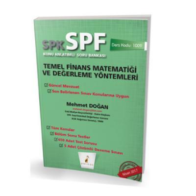 SPF Temel Finans Matematiği ve Değerleme Yöntemleri