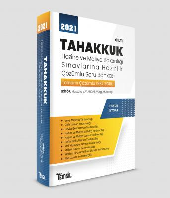 Tahakkuk Hazine ve Maliye Bakanlığı Sınavlarına Hazırlık CİLT I Mustaf