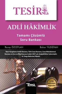 Tesir Adli Hakimlik Tamamı Çözümlü Soru Bankası Recep Özceylan