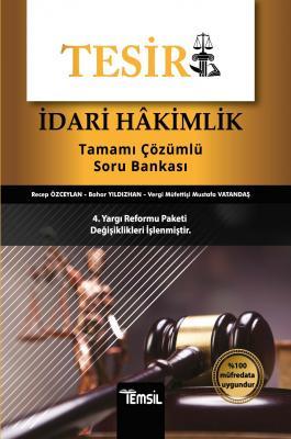 Tesir İdari Hakimlik Tamamı Çözümlü Soru Bankası Recep Özceylan