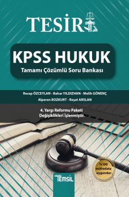 Tesir Kpss Hukuk Tamamı Çözümlü Soru Bankası Recep Özceylan