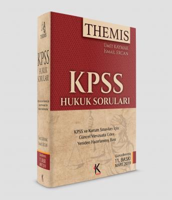 Themis KPSS Hukuk Soruları 2019 %25 indirimli Ümit Kaymak