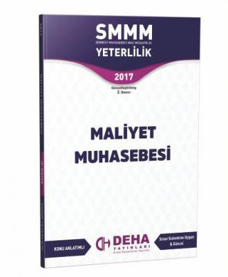 SMMM Yeterlilik Maliyet Muhasebesi
