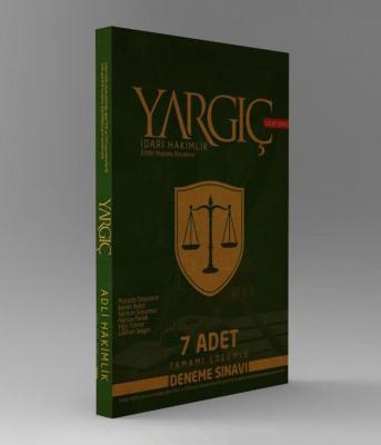 Yargıç İdari Hakimlik 7 Adet Tamamı Çözümlü Deneme Sınavı