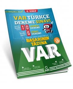 Arı Yayınları 6.Sınıf Var Türkçe Deneme