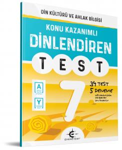 Eker Yayınları 7.Sınıf Dinlediren Test