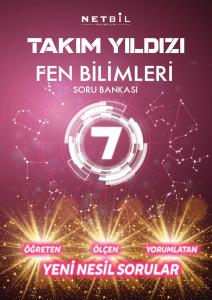 Netbil Yayınları 7. Sınıf Fen Bilimleri Takım Yıldızı Soru Bankası