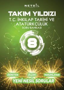 Netbil Yayınları 8. Sınıf Tc Inkılap Tarihi Ve Atatürkçülük Takım Yıldızı Soru Bankası
