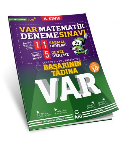Arı Yayınları 6.Sınıf Var Matematik Deneme