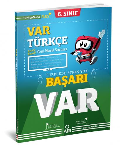 Arı Yayınları 6.Sınıf Var Türkçe Soru Bankası