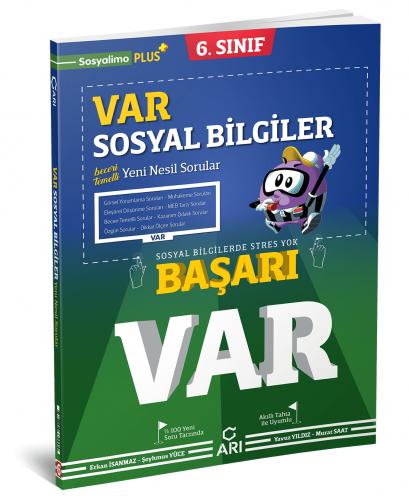 Arı Yayınları 6.Sınıf Var Sosyal Bilgiler Soru Bankası