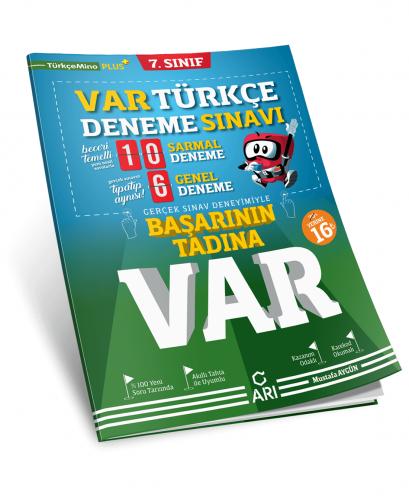 Arı Yayınları 7.Sınıf Var Türkçe Deneme