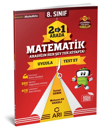 Arı Yayınları 8.Sınıf 2 Si Bir Arada Matematik