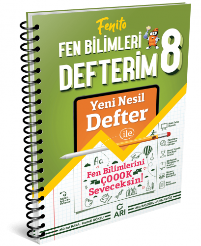 Arı Yayınları 8.Sınıf Akıllı Fen Tekn. Defteri