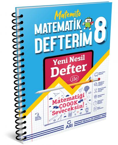 Arı Yayınları 8.Sınıf Akıllı Matematik Defteri