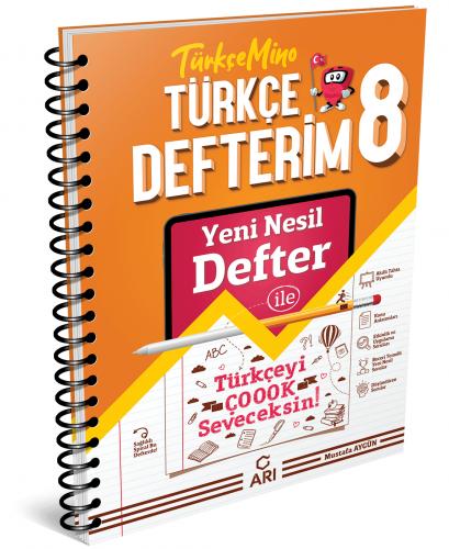 Arı Yayınları 8.Sınıf Akıllı Türkçe Defteri