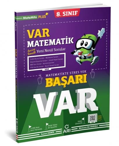 Arı Yayınları 8.Sınıf Var Matematik Soru Bankası