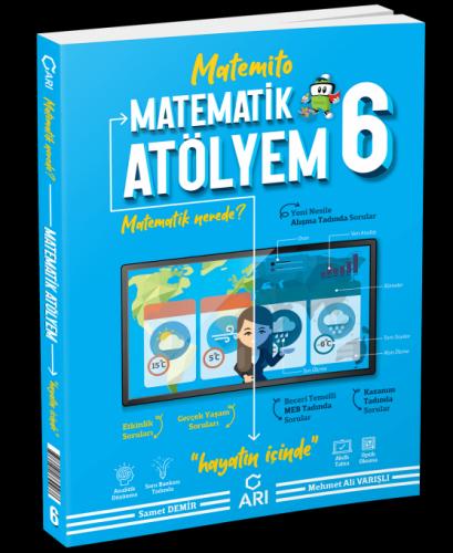 Arı Yayınları 6.Sınıf Matematik Atölyem 2020 Basım