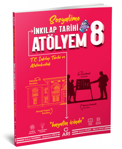 Arı Yayınları 8.Sınıf  T.C. İnkılap Tarihi Ve Atatürkçülük Atölyem