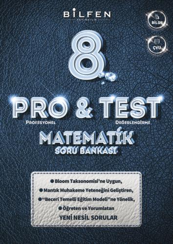 Bilfen 8.Sınıf Matematik 8 Pro&Bıl Soru Bankası