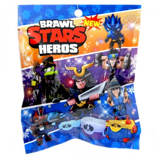 Brawl Stars Heros Sürpriz Poşet Figür