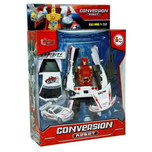 Conversion 998 Işıklı Sesli Dönüşebilen Robot