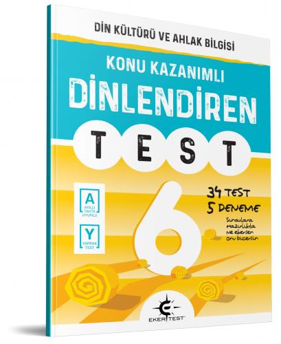 Eker Yayınları 6.Sınıf Dinlediren Test