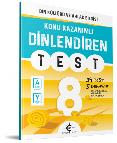Eker Yayınları 8.Sınıf Dinlediren Test